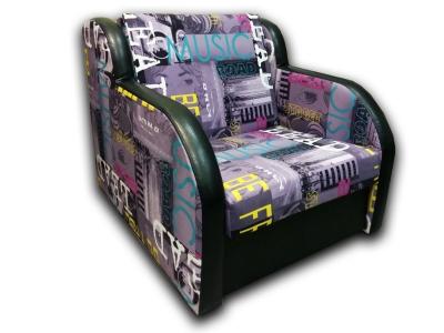 Кресло-кровать Барни Music Violet